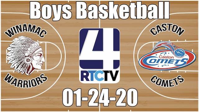 Winamac Boys Basketball vs Caston 1-2...