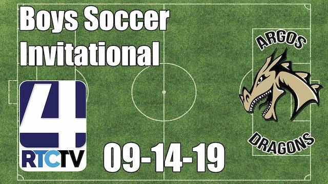 Argos Boys Soccer Invitational - Championship - 9-14-19