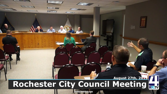 Rochester City Council Meeting 8-27-19