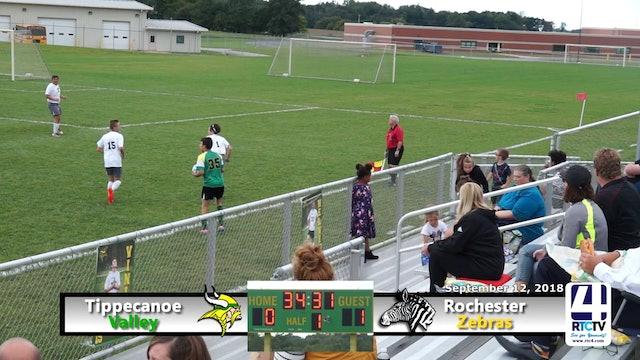 Tippecanoe Valley Soccer vs Rochester - 09-12-18