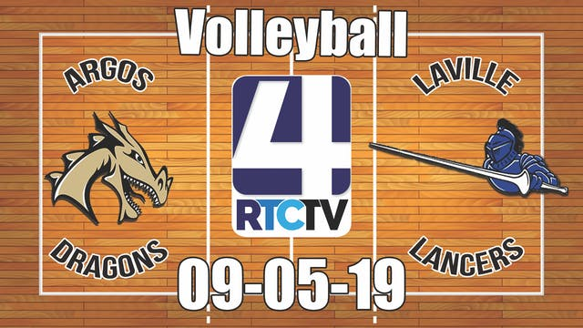 Argos Volleyball vs LaVille - 9-5-19