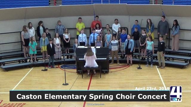 Caston Elementary Spring Choir Concert - 4-23-19