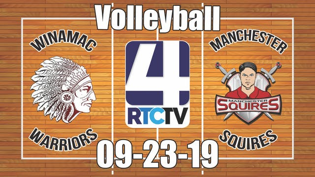Winamac Volleyball vs Manchester