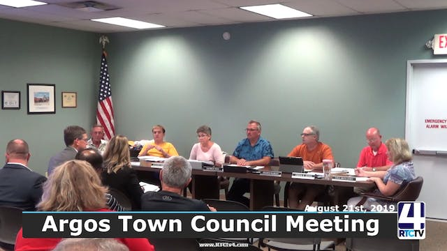 Argos Town Council Meeting 9-4-19