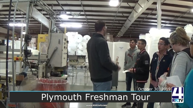 Plymouth HS Freshman Factory Tour - 10-30-19