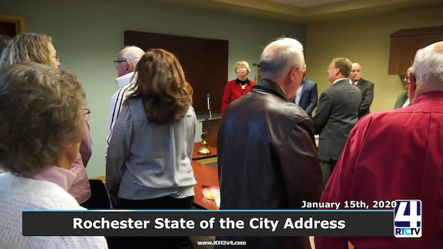 PM - Rochester State of the City Adress - 1-15-20