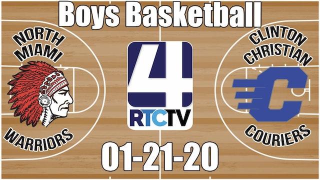 North Miami Boys Basketball vs Clinton Christian 1-21-20