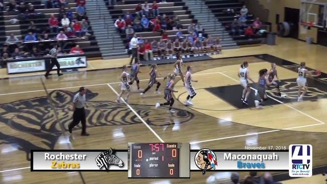 Rochester Girls Basketball vs Maconaq...