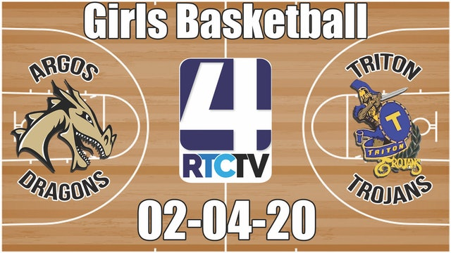 IHSAA Girls Basketball Sectional #50 Argos vs Triton 2-4-20