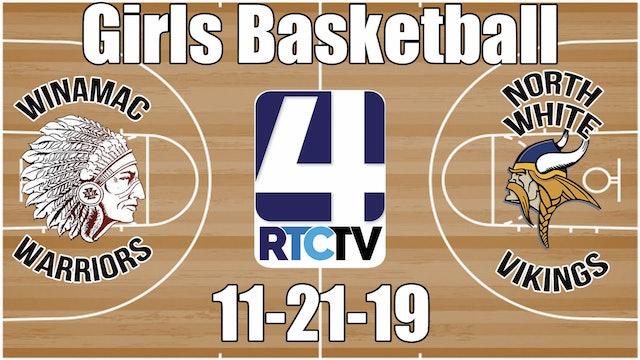Winamac Girls Basketball vs North White 11-21-19