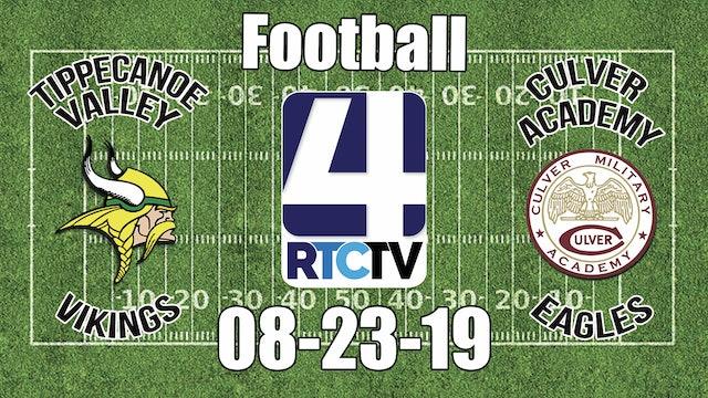 Tippecanoe Valley Football @ Culver Academies 08-23-19