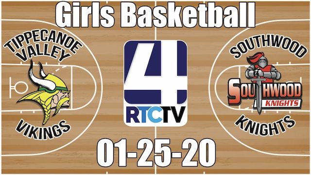 Tippecanoe Valley Girls Basketball vs Southwood 1-25-20