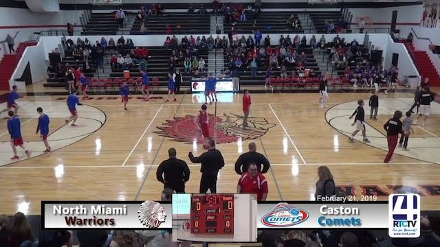 North Miami Boys Basketball vs Caston...