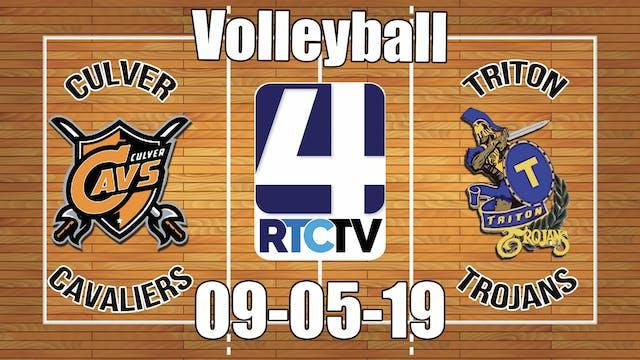 Culver Volleyball vs Triton - 9-5-19