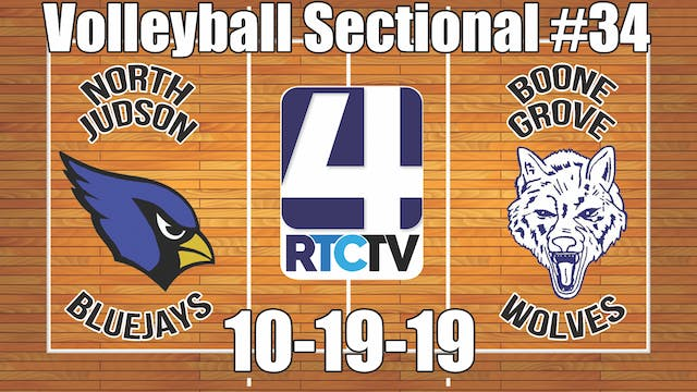 IHSAA Volleyball Sectional #34 North ...
