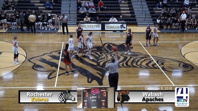 Rochester Girls Basketball vs Wabash - 12-8-18