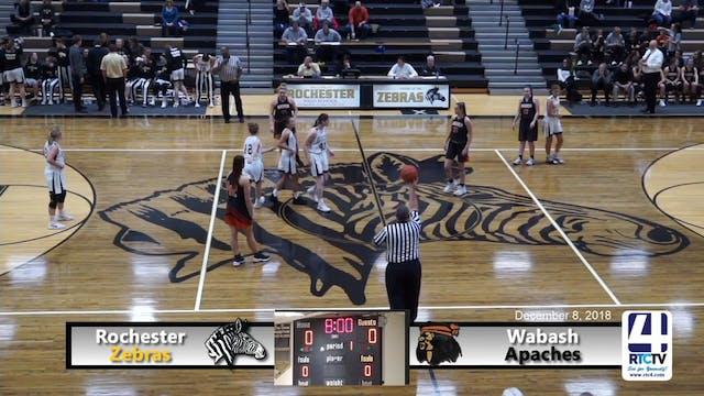 Rochester Girls Basketball vs Wabash ...