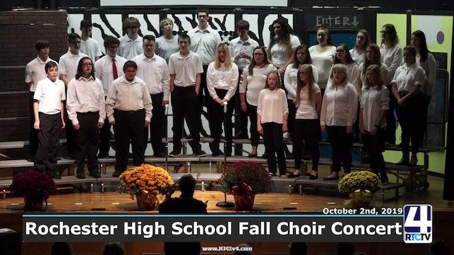 Rochester High School Fall Choir Concert - 10-2-19