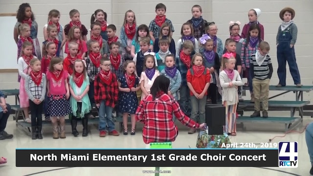 North Miami Elementary 1st Grade Choir Concert 4-24-19