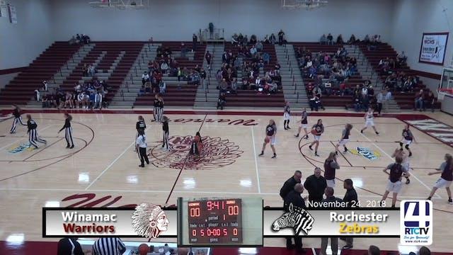 Winamac Girls Basketball vs Rochester...