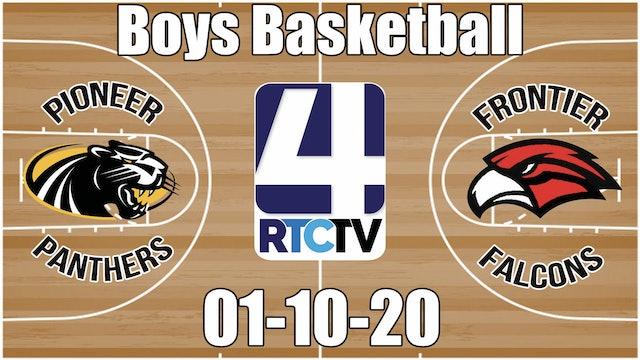 Pioneer Boys Basketball vs Frontier 1-10-20