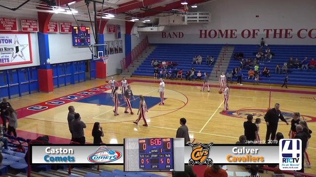 Caston Girls Basketball vs Culver - 1-3-19