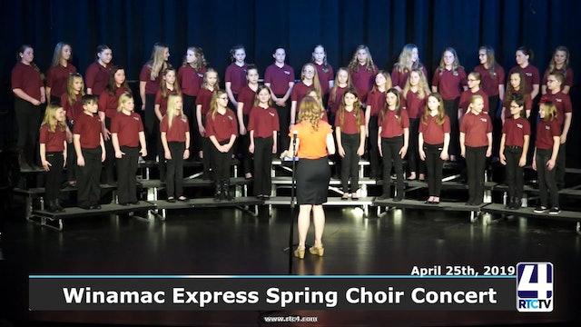 Winamac Express Spring Choir Concert 4-25-19