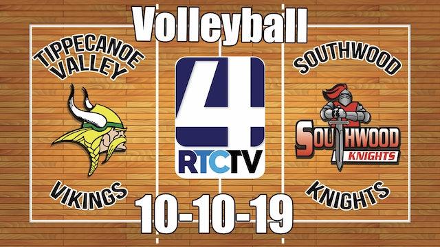 Tippecanoe Valley Volleyball vs Southwood (Senior Night) 10-10-19