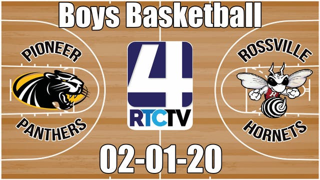 Pioneer Boys Basketball vs Rossville ...