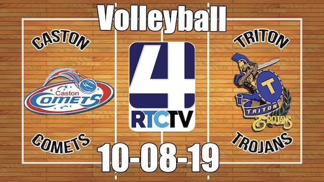 Caston Volleyball vs Trition 10-8-19