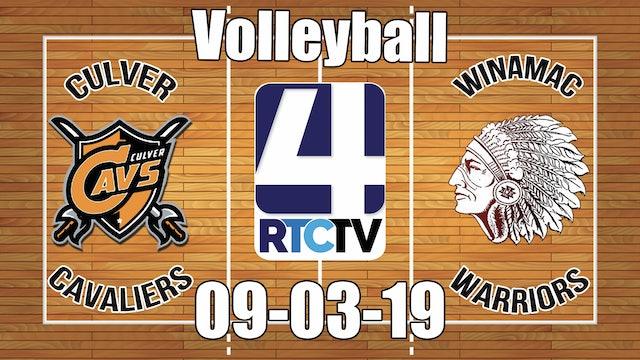 Culver Volleyball vs Winamac - 9-3-19