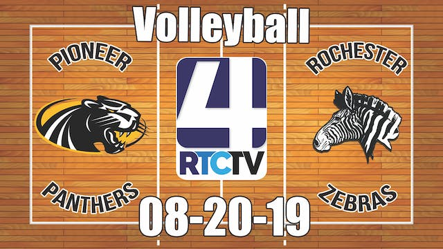 Pioneer Volleyball vs Rochester 8-20-19