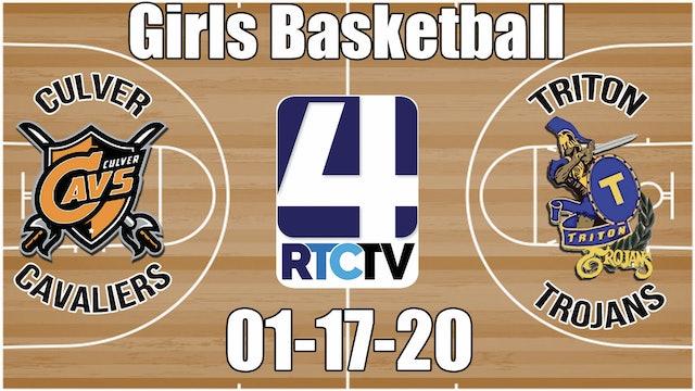 Culver Girls Basketball vs Triton 1-17-20