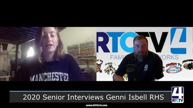 NI - SR Interviews Genni Isbell RHS