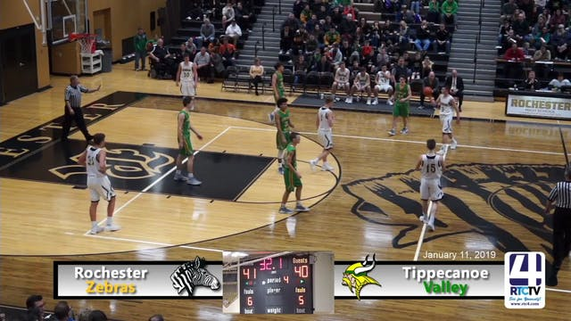 Rochester Boys Basketball vs Tippecan...