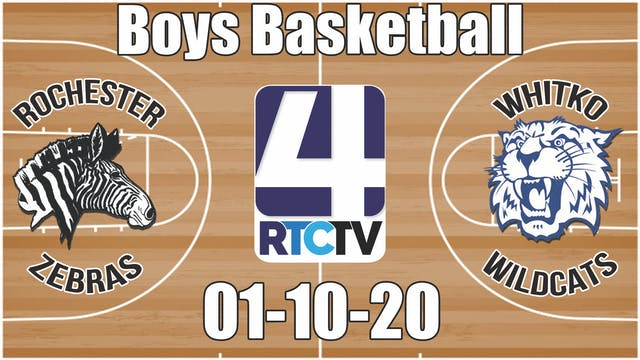 Rochester Boys Basketball vs Whitko 1...