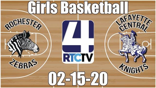 IHSAA Girls Regional #10 Rochester vs...
