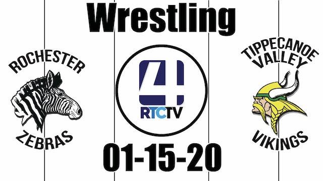 Rochester Wrestling vs Tippecanoe Valley 1-15-20