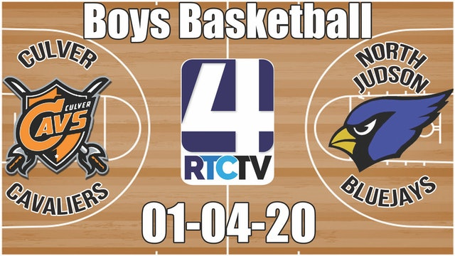 Culver Boys Basketball at North Judson 1-4-20