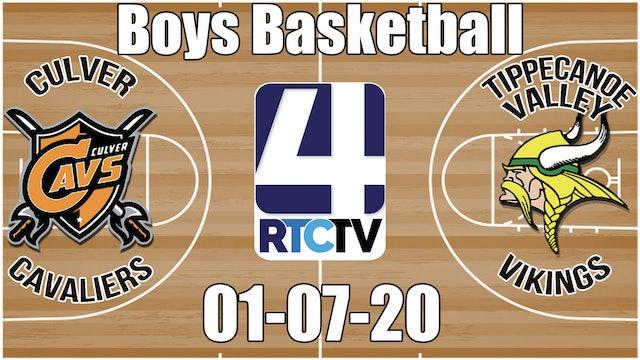 Culver Boys Basketball vs Tippecanoe Valley 1-7-20