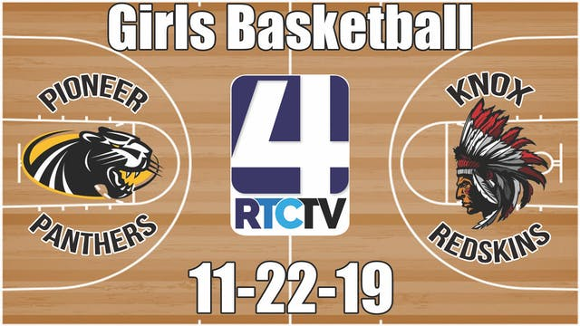 Pioneer Girls Basketball vs Knox 11-2...