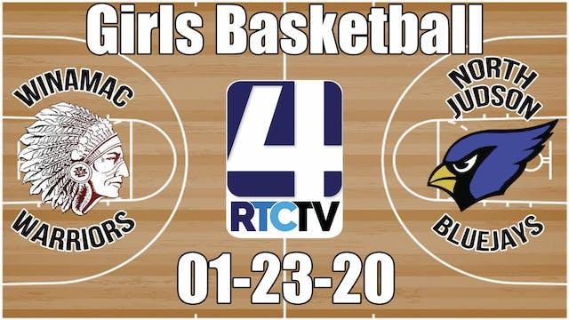 Winamac Girls Basketball vs North Jud...