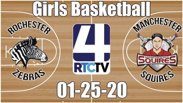 Rochester Girls Basketball vs Manchester 1-25-20