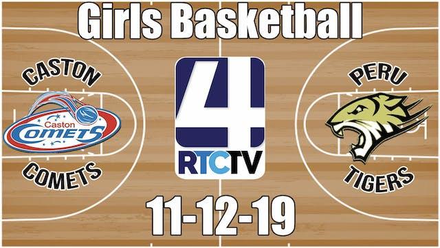 Caston Girls Basketball vs Peru 11-12-19