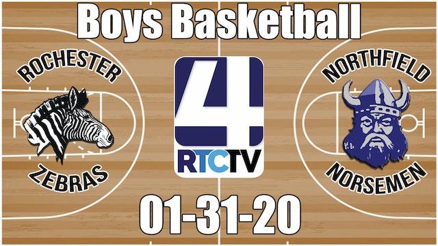 Rochester Boys Basketball vs Northfield 1-31-20