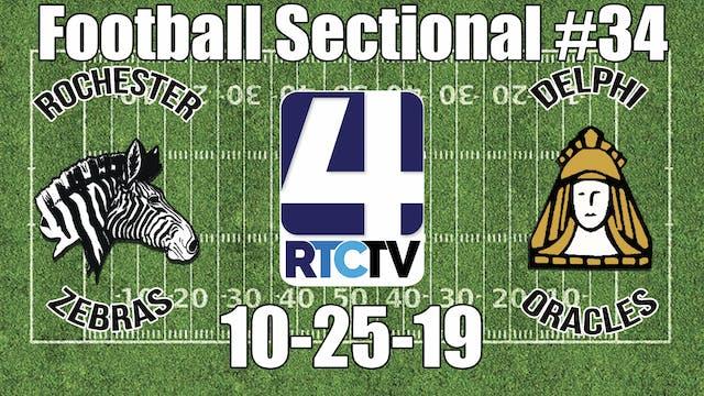 IHSAA Football Sectional #34 Rocheste...