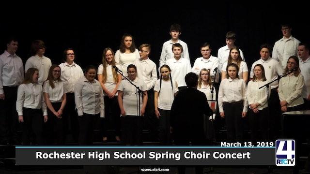 Rochester High School Spring Concert - 3-13-19