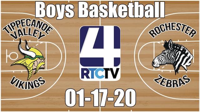 Tippecanoe Valley Boys Basketball vs Rochester 1-17-20