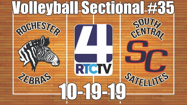 IHSAA Volleyball Sectional #35 Roches...