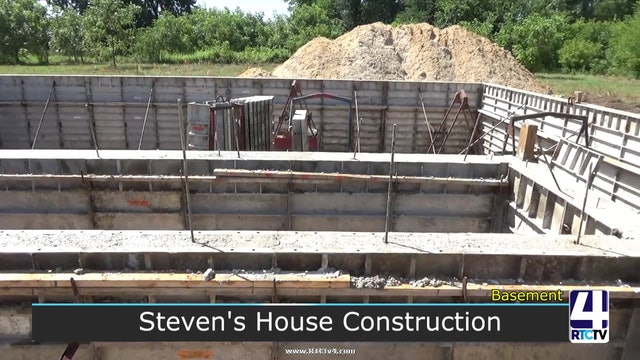 Steven's House Construction Footage - Basement